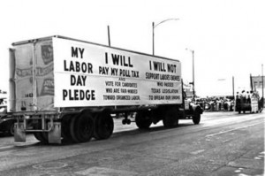 Take the pledge to stop voting for the enemies of labor.